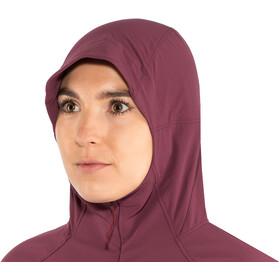 inov-8 Softshell HZ Jacket Women purple